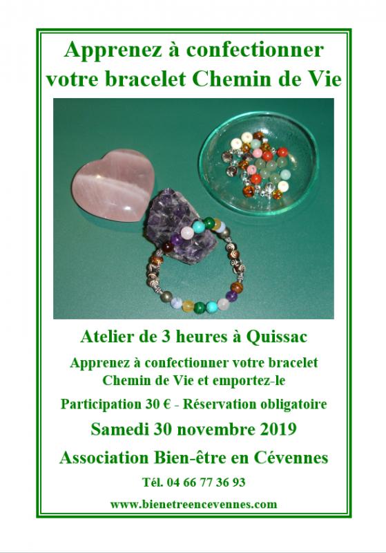 Affiche chemin de vie novembra 2019