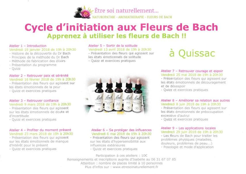 Affiche initiation fleursde bach