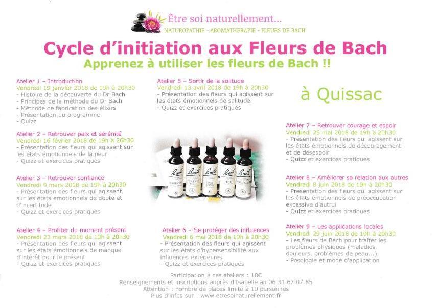 Affiche initiation fleursde bach