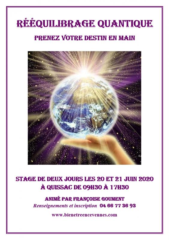 Affiche reequilibrage quantique juin 2020