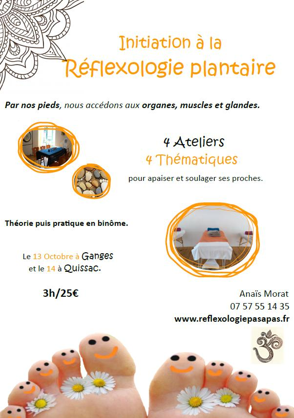Affiche reflexologie septembre
