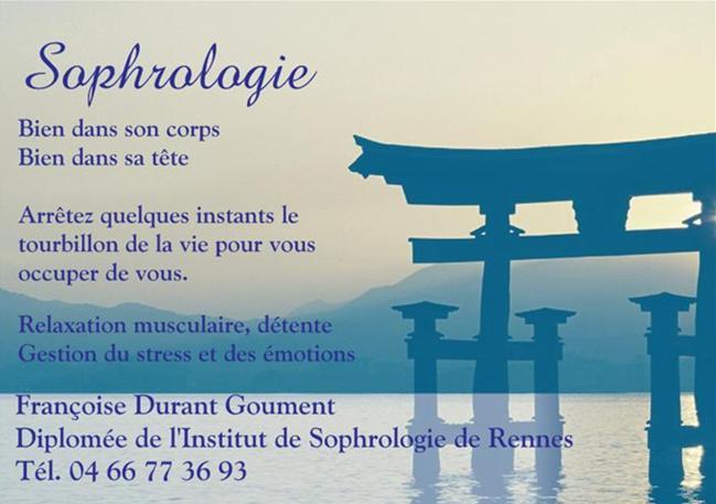 Affiche sophrologie francoise