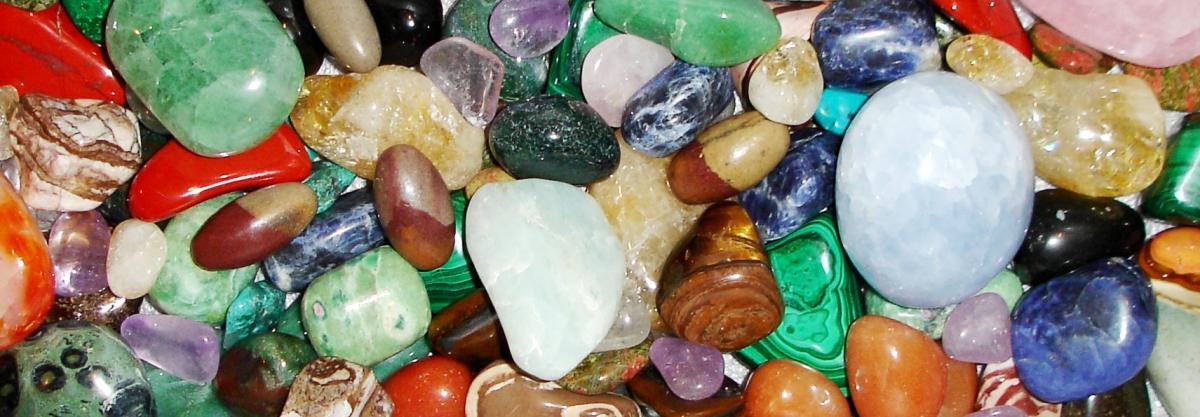 Bandeau pierres et cristaux 1