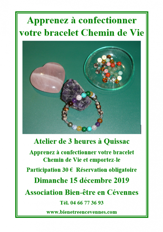 Chemin de vie decembre 2019
