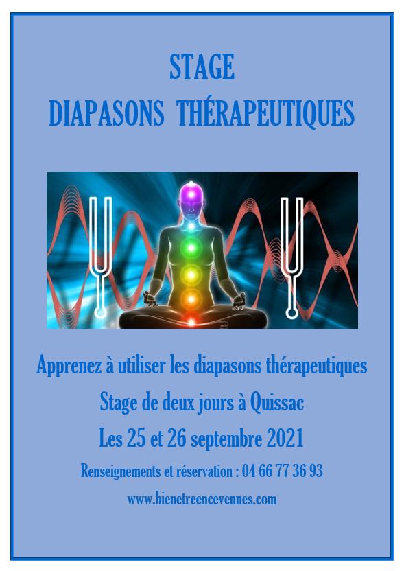 Diapasons therapeutique septembre 2021