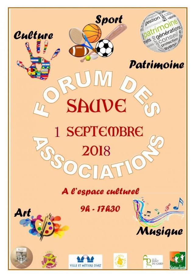 Forum associations sauve 2019