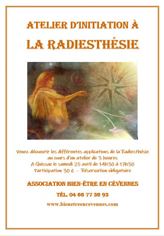 Radiesthesie affiche