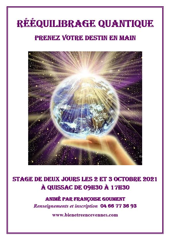 Reequilibrage quantique octobre 2021