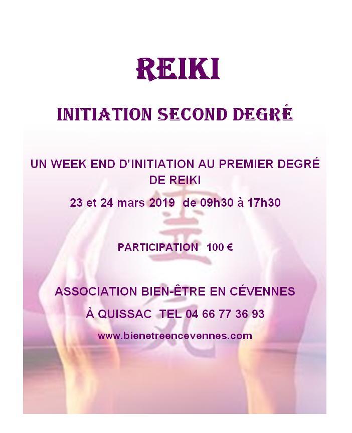 Reiki 1 mars 2019